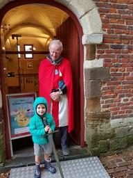 De Rode Ridder, Wagenhuis, kasteel van Horst-