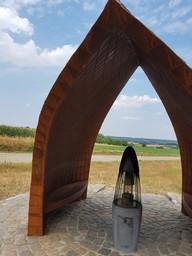Vredesvlam in Sint-Pieters-Rode deelgemeente van Holsbeek