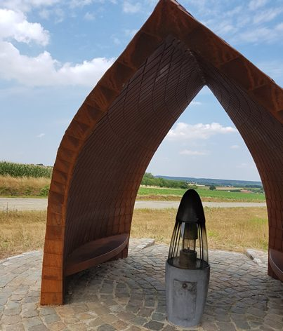 Vredesvlam in Sint-Pieters-Rode